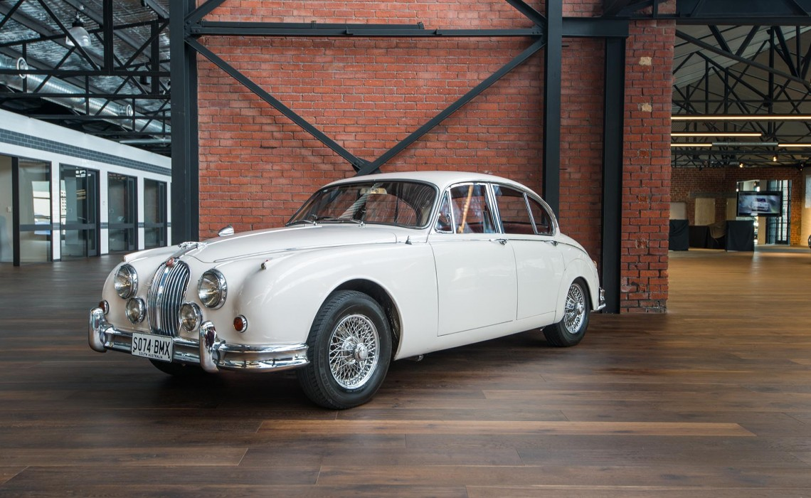 1962 Jaguar Mk2 3 4 Manual Sedan Richmonds Classic