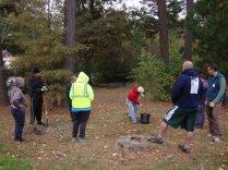 Patrick Henry School planting demo