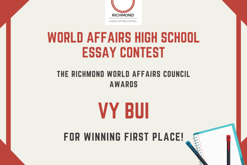 2019 Essay Contest Winner