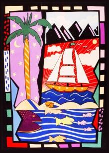 ttgraphic boat n sea