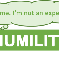 Humility and how to avoid becoming an expert