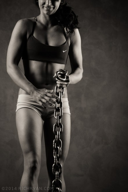 Female Fitness Athlete Competitor Figure