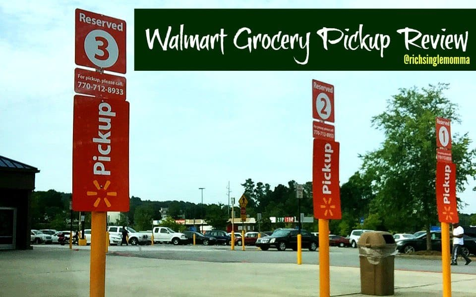 Walmart Grocery Pickup Review - I'm in Love! (Promo Code