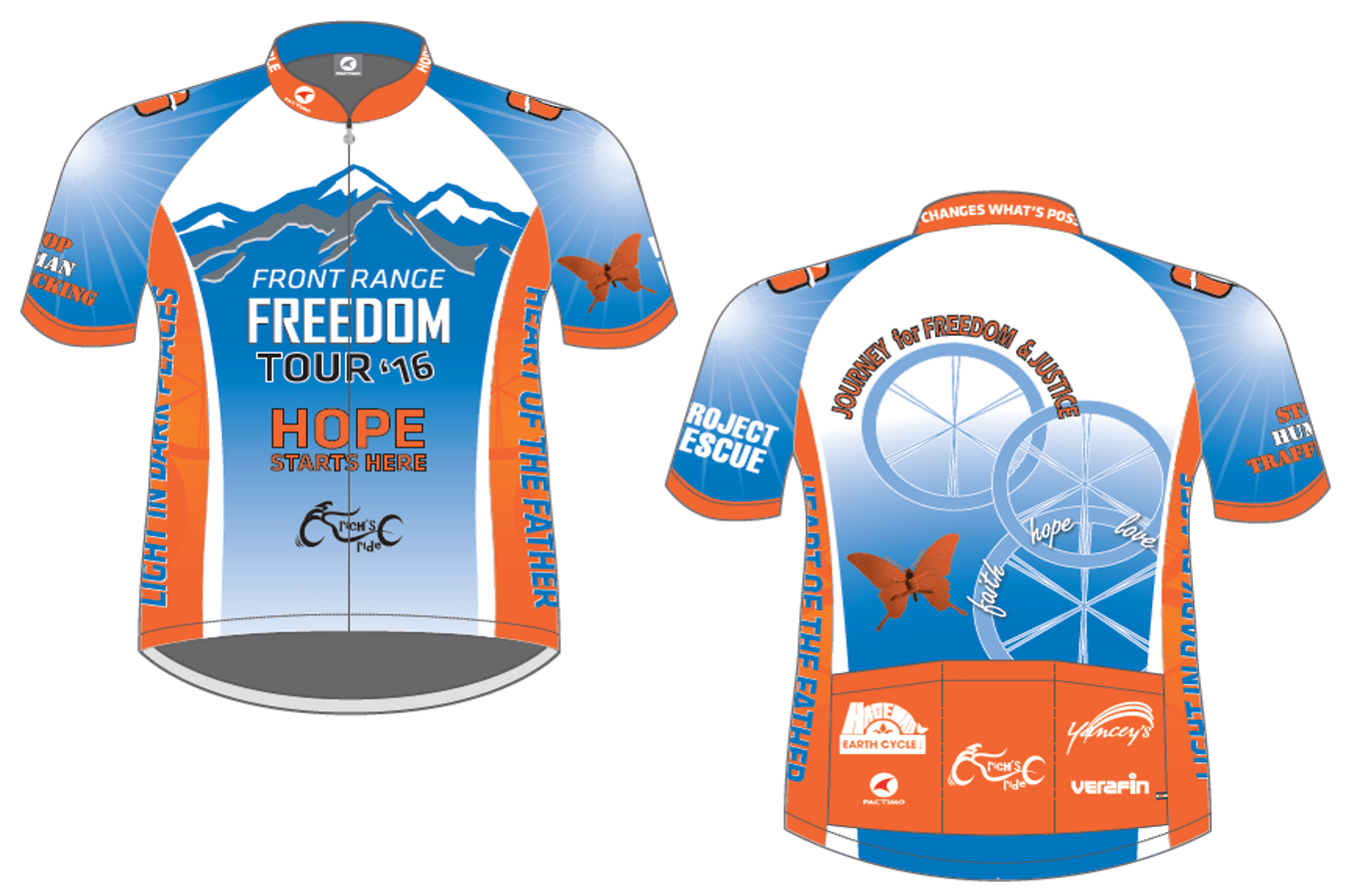 Freedom isn t free cycling jersey - All Proceeds Go To Project Rescue S Home Of Hope