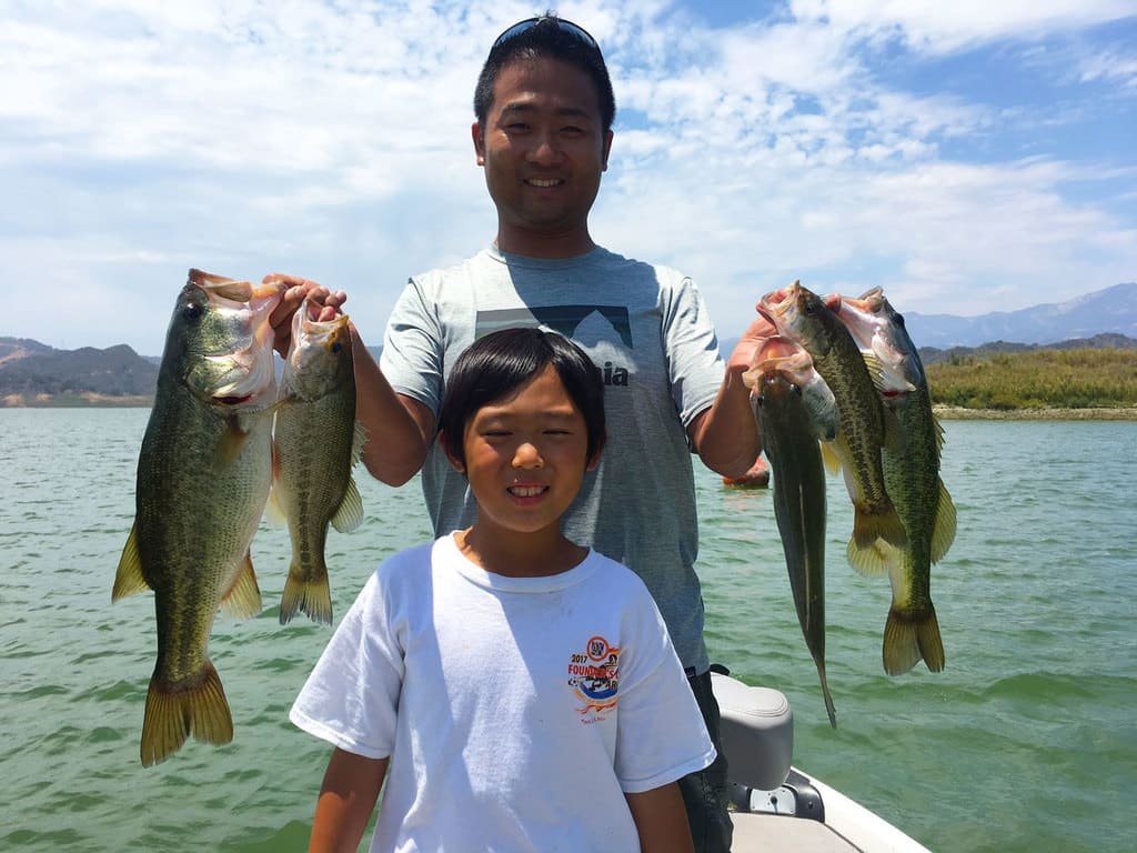 Lake Casitas Bass Fishing Guide Service - 07/16/2017