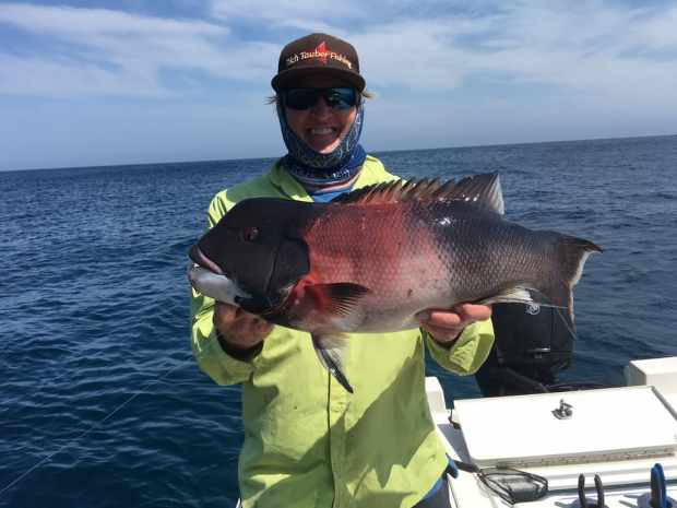 Saltwater Fishing Charter Report 07/11/2017 Rich with a Sheephead