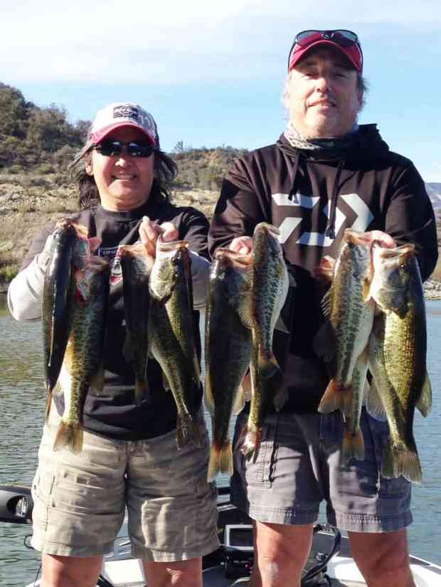 Lake Casitas Bass Fishing Guide Service - 03/05/2018