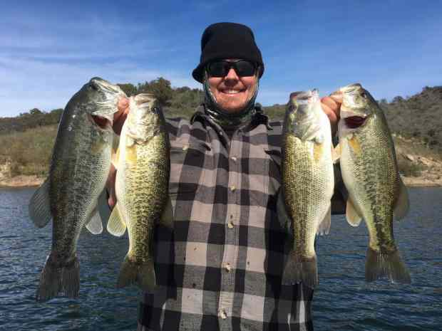 Lake Casitas Bass Fishing Guide Service - 03/19/2018