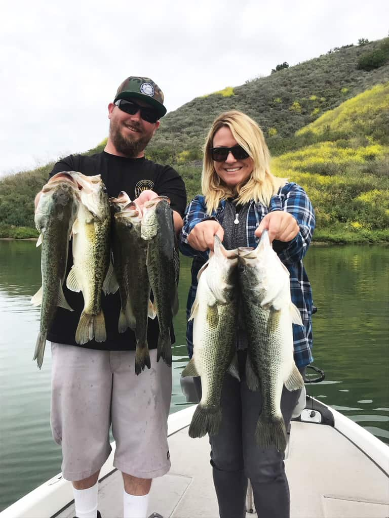 Lake Casitas Fishing Guide - 05/06/2018