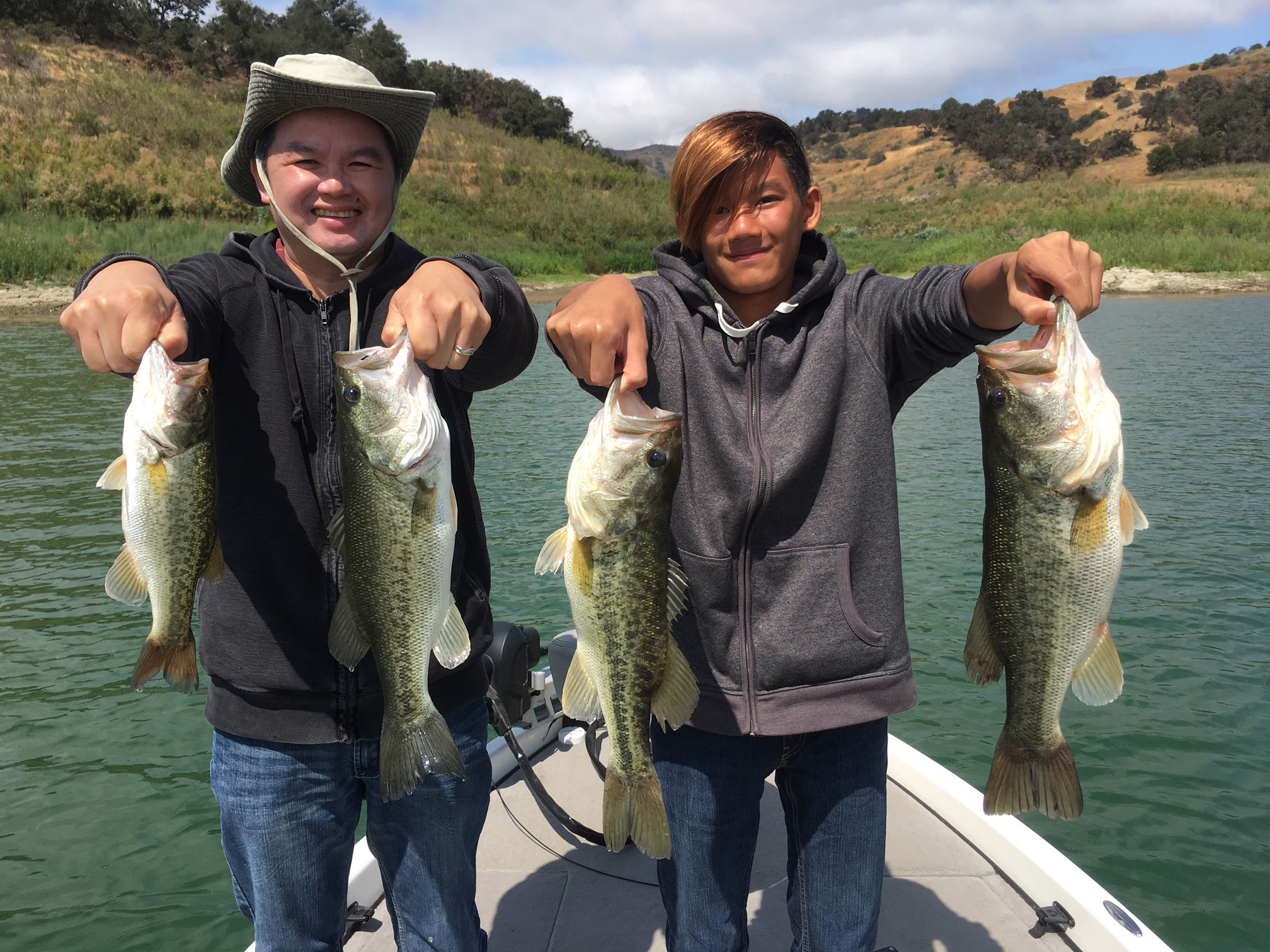 Lake Casitas Fishing Guide 07/17/2018