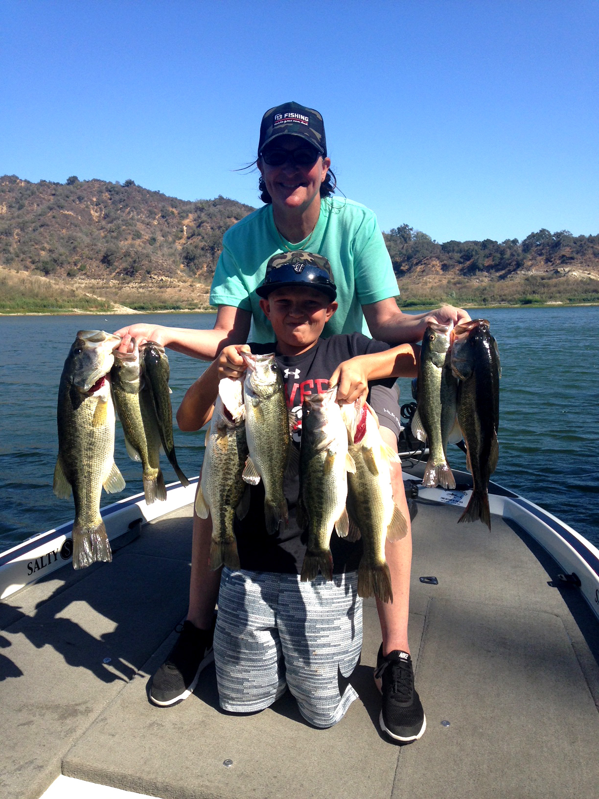 Lake Casitas Fishing Guide 09/08/2018