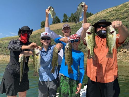 Southern California Bass Fishing Guide's Report 05/09/2020