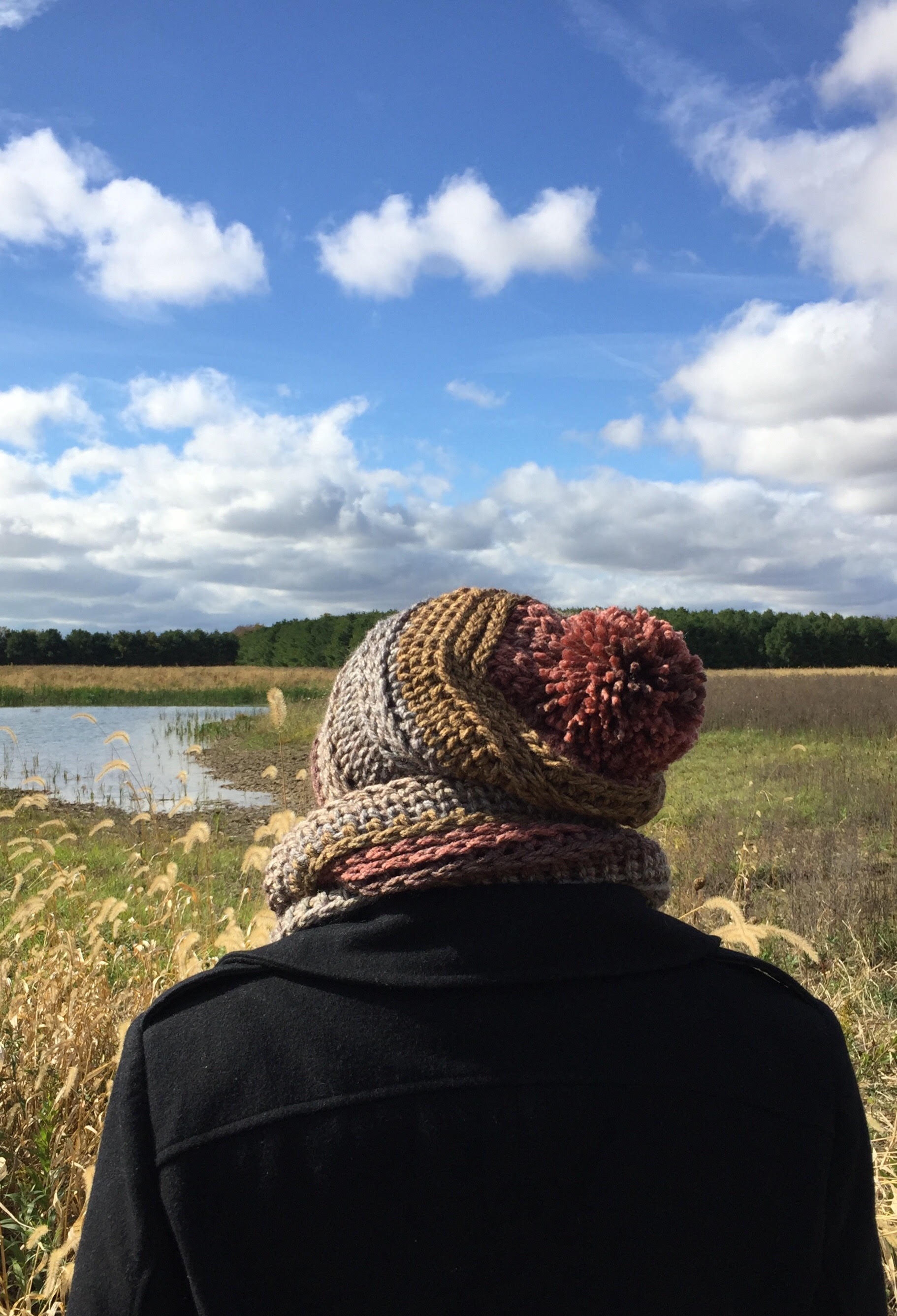 efeafb5a28d Ginger Spice Slouch Hat and Cowl Set - A Free Pattern!