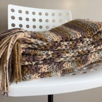 The Winter Cottage Throw - A Free Pattern