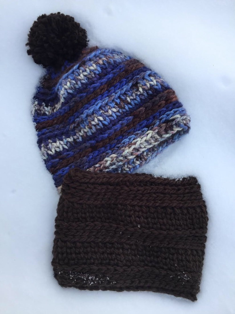 Children\'s Textured Slouch and Neck Warmer - A free Crochet Pattern ...