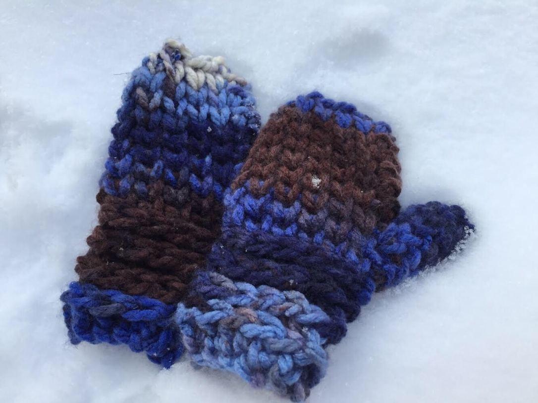 Crochet Children's Mittens