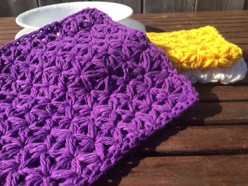 Spring Cleaning Day Five The Jasmine Washcloth A Free Crochet