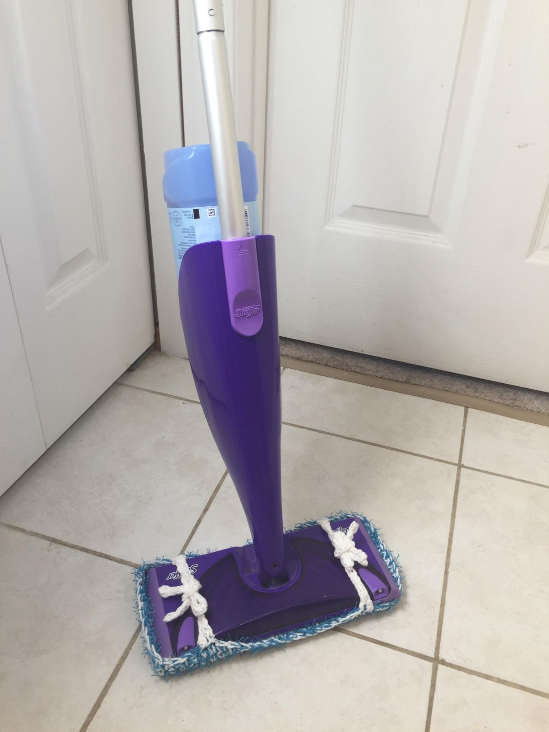 Spring Cleaning Day Seven The Scrubby Swiffer Cover A
