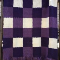 Lavender Throw - A Free Crochet Pattern