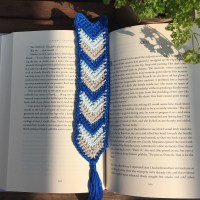 Chevron Bookmark - A Free Crochet Pattern