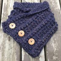 Rustic River Cowl - Free Crochet Pattern