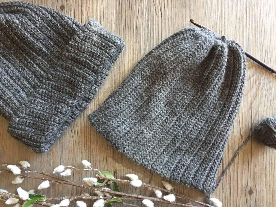 Men's Crochet Hat2