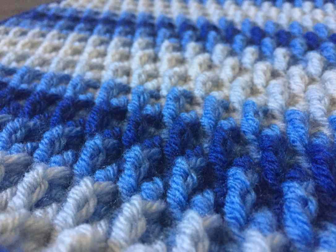 raised ripple texture