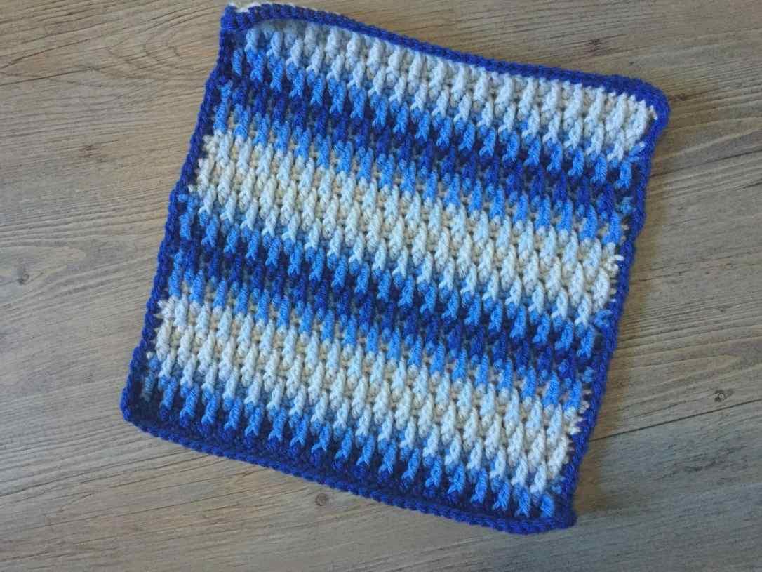 raised ripple square