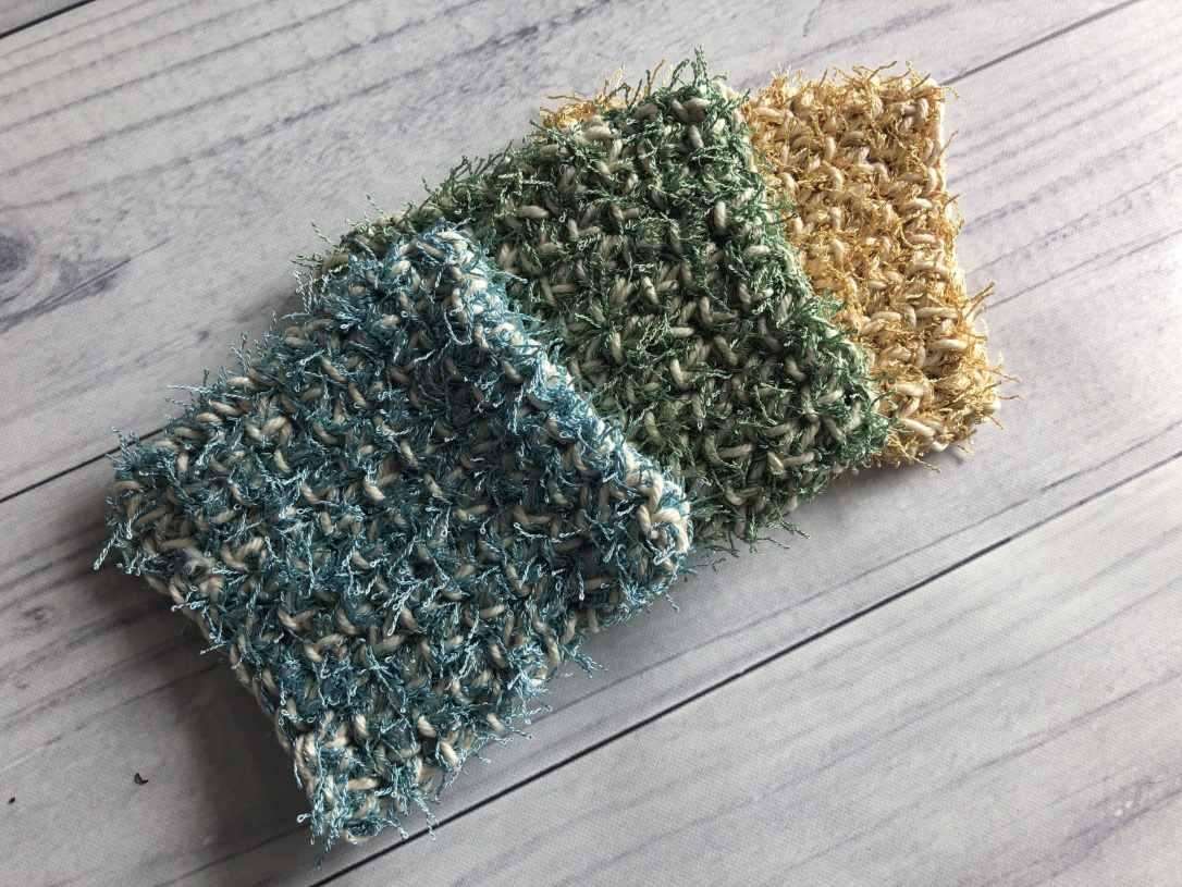 easy crochet scrubby