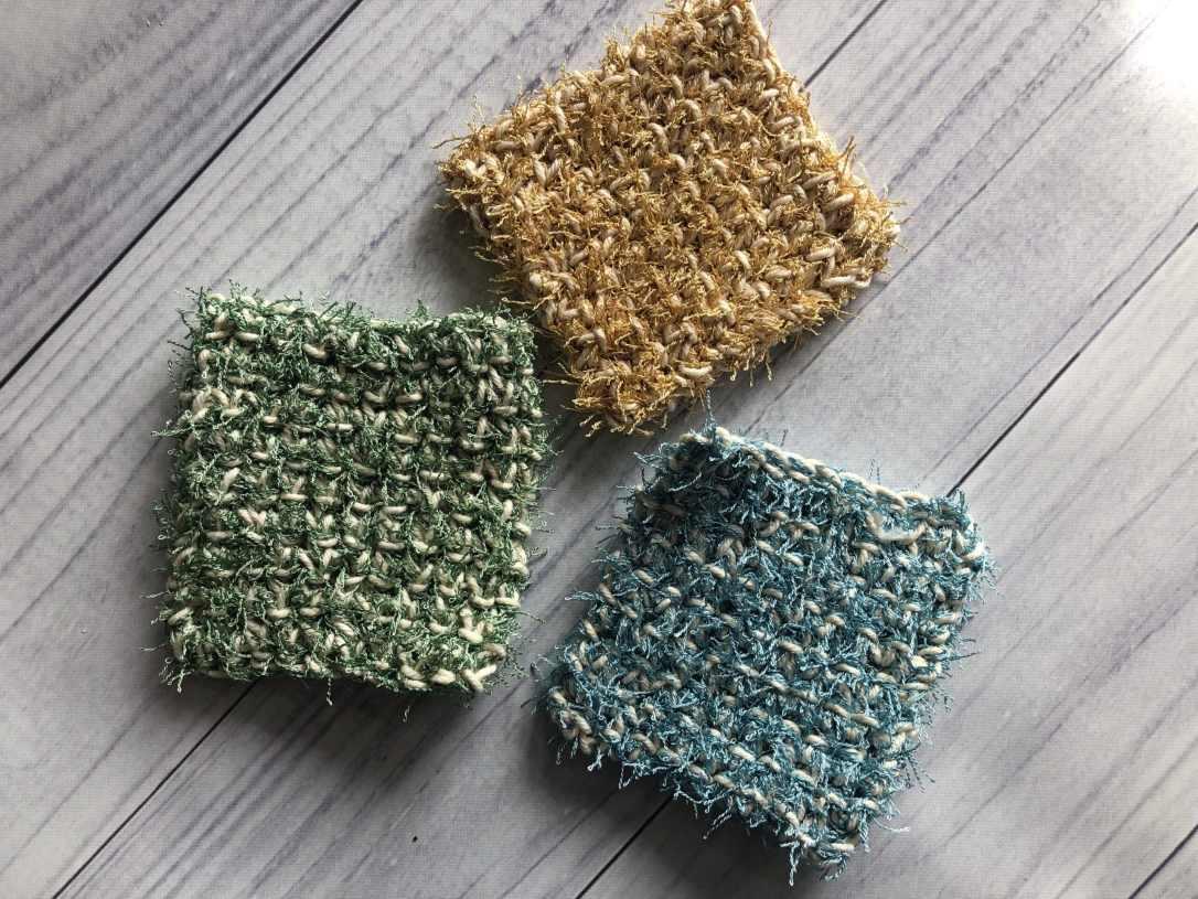 easy crochet scrubby2