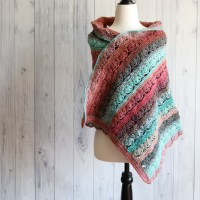 Spring Blossom Shawl Free Crochet Pattern