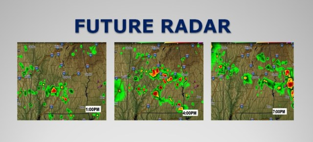 SATURDAY UPDATE: Stormy at Times Next Few Days - Rich Thomas