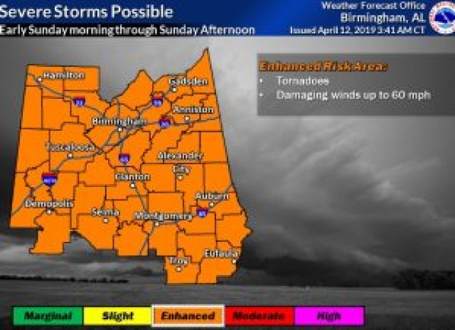 Sunday's ENHANCED Severe Risk – Tornadoes Threat – Special