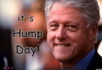 clinton hump day