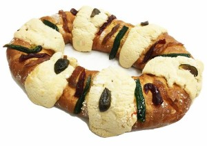 king cake in english & spanish