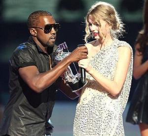 kanye interrupting an acceptance speech