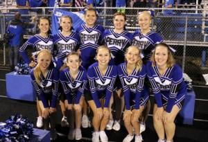 perry cheerleaders