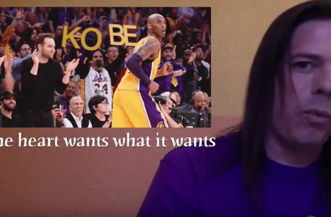kobe farewell--the heart wants what it wants