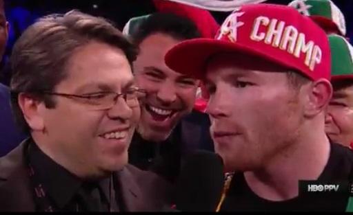 canelo vs khan: 'mamadas' in english & boxing $$