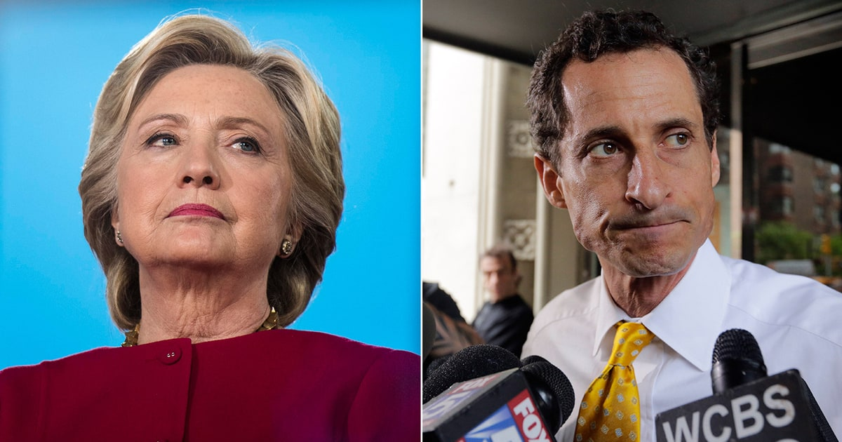 political scandals: weiner sexting, hillary emails & more