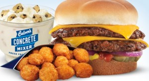 a meal from culver's--wisconsin food