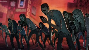 mobille phone zombies