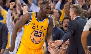 draymond green and steve kerr disagreeing