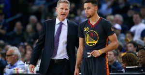 steve kerr coaching steph curry
