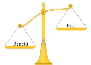 when benefits outweigh risks