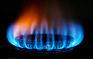 a gas stove burner
