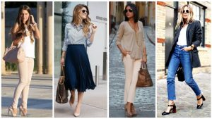 an array of outfits for ladies