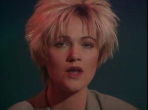 marie fredriksson from the it must have been love (christmas for the broken hearted) video