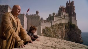lord varys & tyrion lannister from game of thrones
