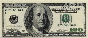 hundred dollar bill wise